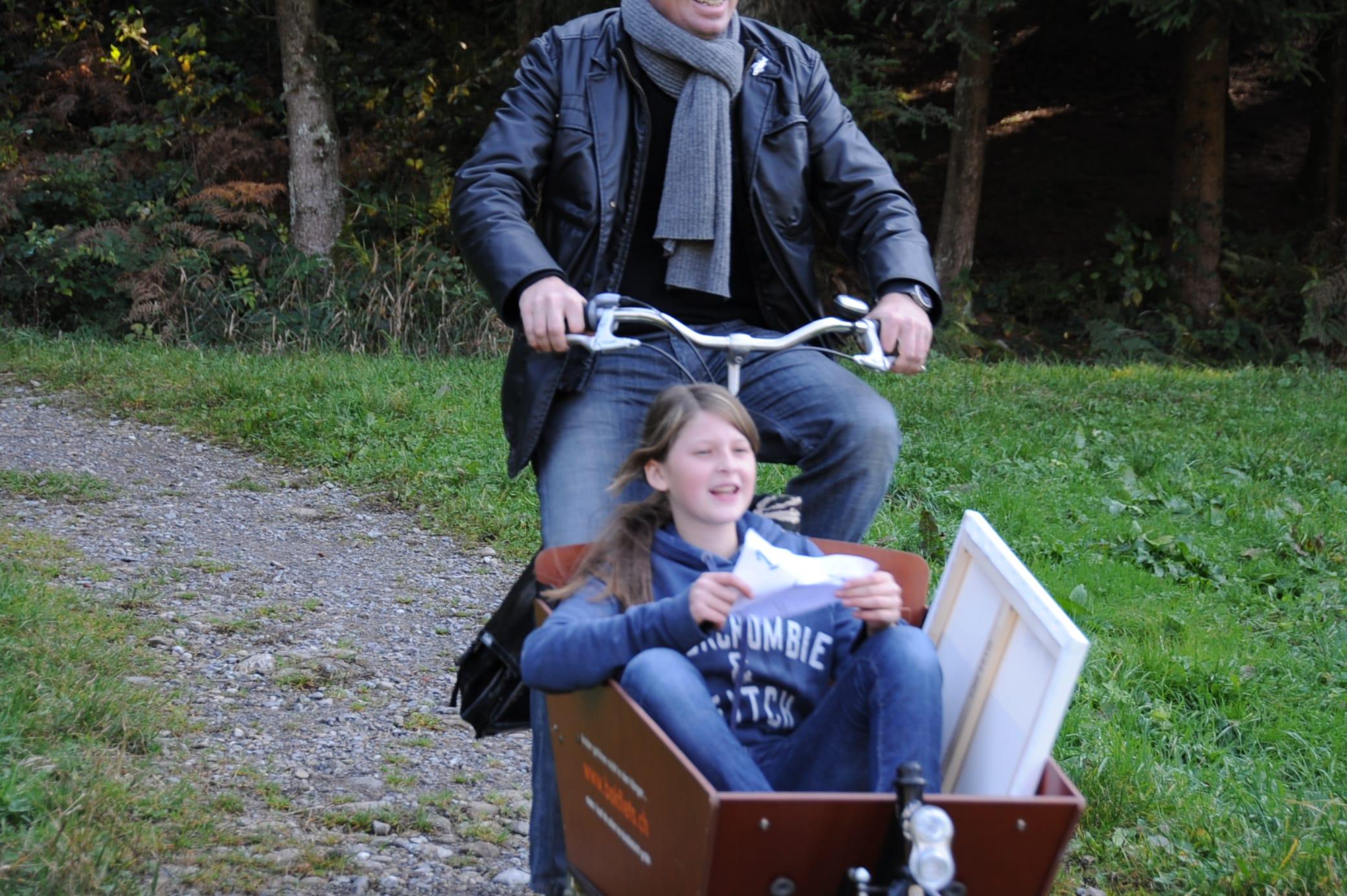 Sjoerd + Anne-Sophie: Flaschenpost, holländisches Transportvelo, Kind, und eine Geschichte…