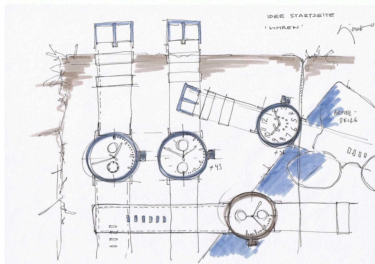 Sjoerd+Skizzen+Uhren